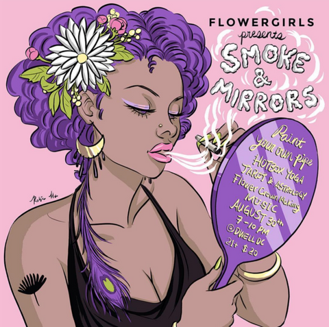 Upcoming event with Femme Fatale, Flower Girls, & High Tea Babes