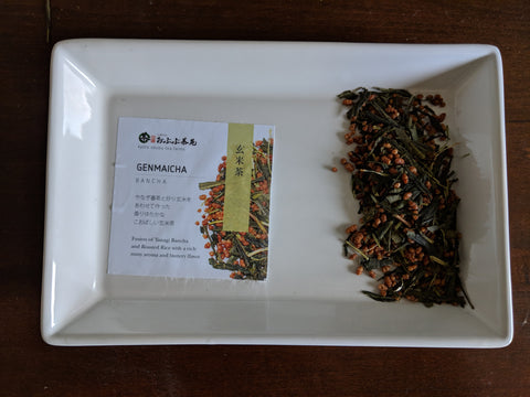 Tea Tisanes Blends- Genmaicha