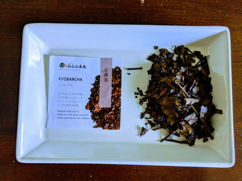 Teas Tisanes Blends- Kyobancha a bancha tea