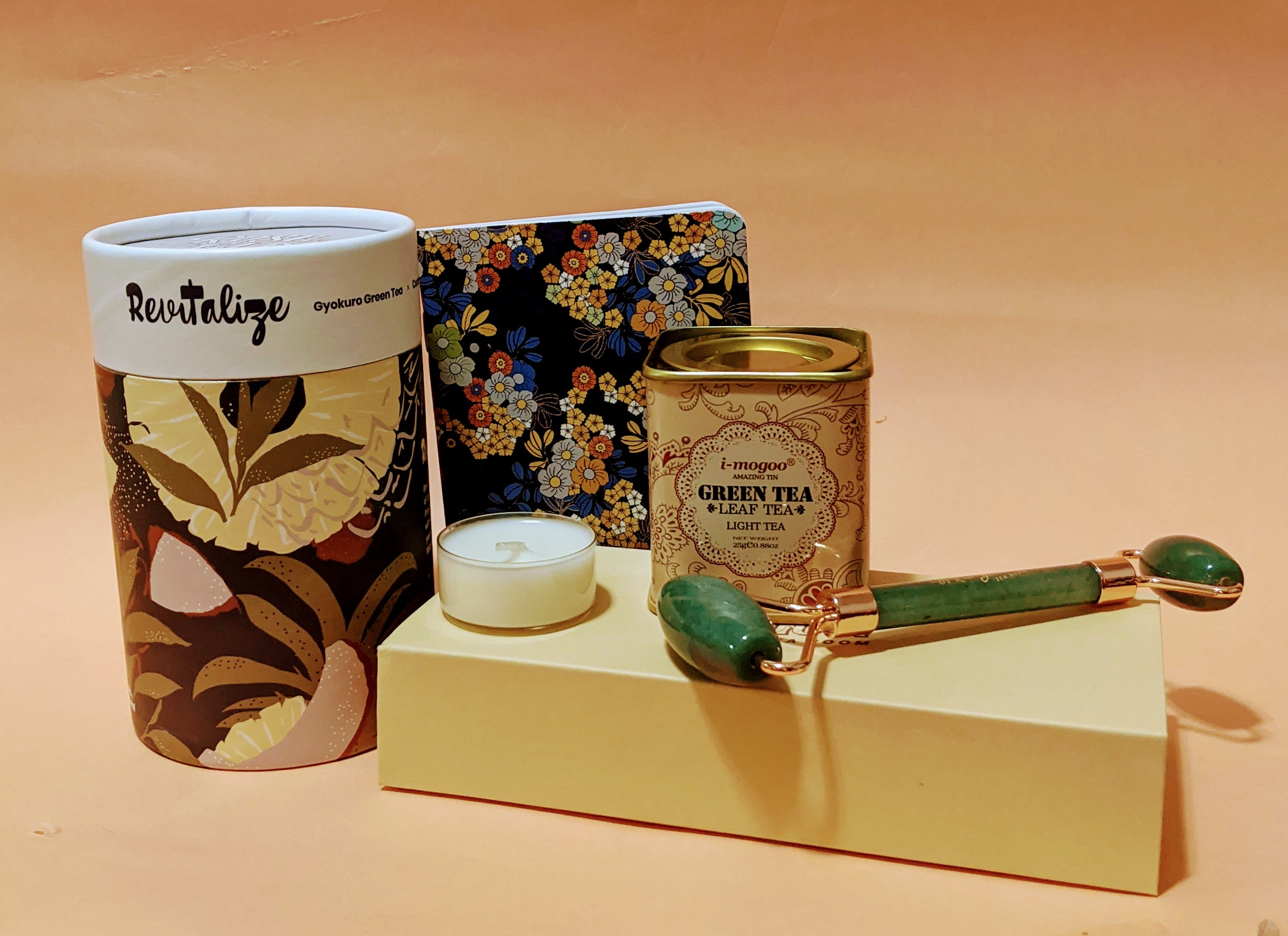 Green with Envy Gift Box - Rose Glow Tea Room