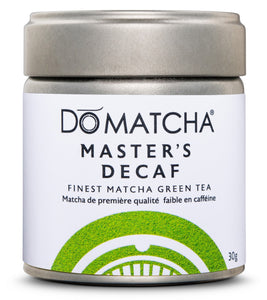 Master's Decaf - Finest Matcha Green Tea