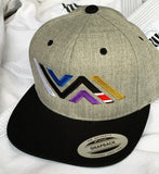 Vida Icon (Full Color) Flat Brim Snapback Hat