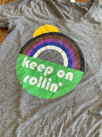 Keep on Rollin' Women's Tri-Blend Tee