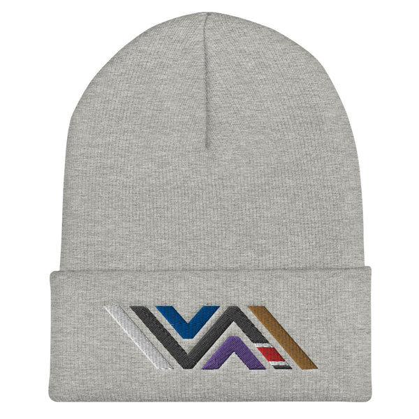 Vida Jiu-Jitsu Icon (Full Color) Cuffed Beanie