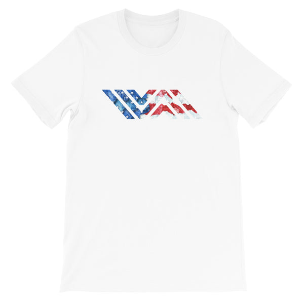 American Flag Vida Icon Short-Sleeve Unisex Premium T-Shirt