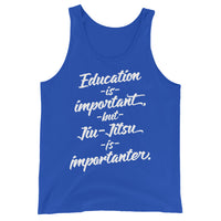 Jiu-Jitsu is Importanter Unisex Premium Tank