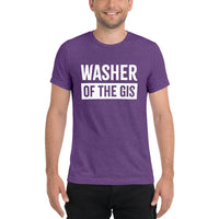 Washer of the Gis Unisex Tri-Blend T-Shirt