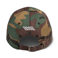 Red, White & Blue (& Camo) Jiu Jitsu Classic Baseball Cap