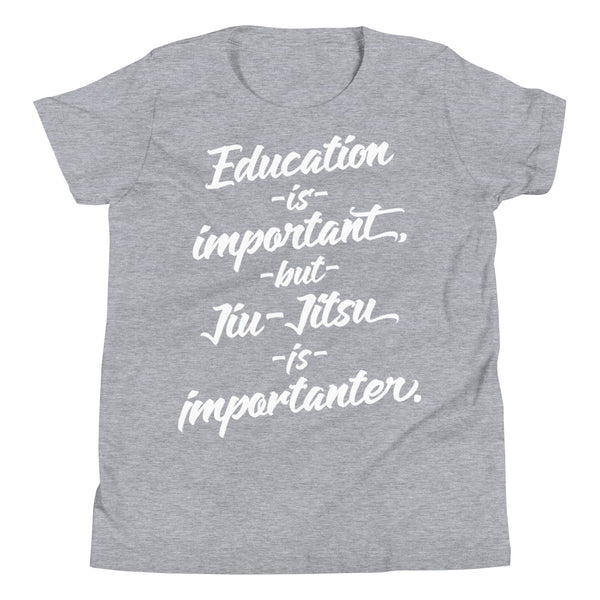 Jiu-Jitsu is Importanter Kids Tee