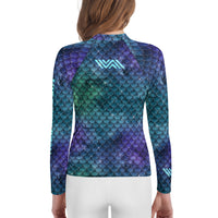 Mermaid Scales NoGi Youth Jiu-Jitsu Rash Guard