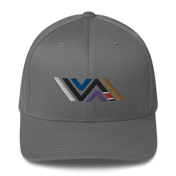 Vida Icon (Full Color) Structured Solid Back Twill Cap