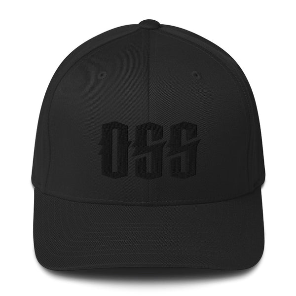 OSS Structured Solid Back Twill Cap