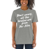 Don't Worry About the Bruises Unisex Short Sleeve T-shirt