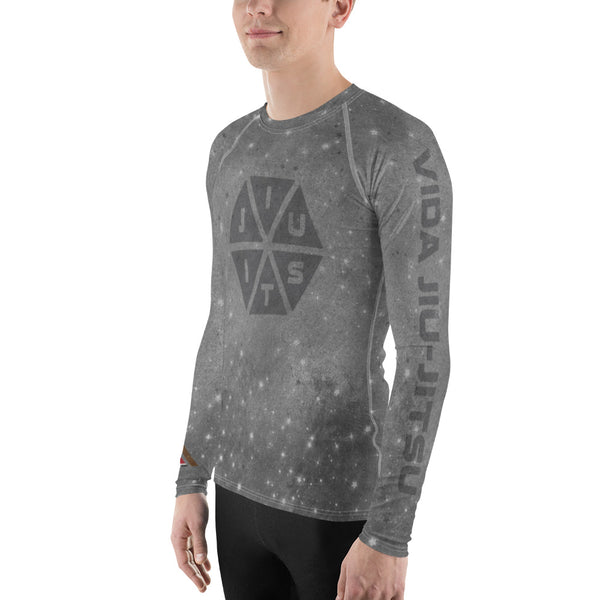 Jiu-Jitsu Space Hexagon Men's Rash Guard