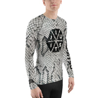Snakeskin Jiu-Jitsu Men's Rash Guard