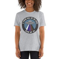If There Will Be Jiu-Jitsu, Beam Me Up. Short-Sleeve Unisex T-Shirt