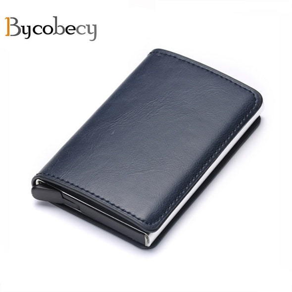 Iconic Leather Antitheft Wallet
