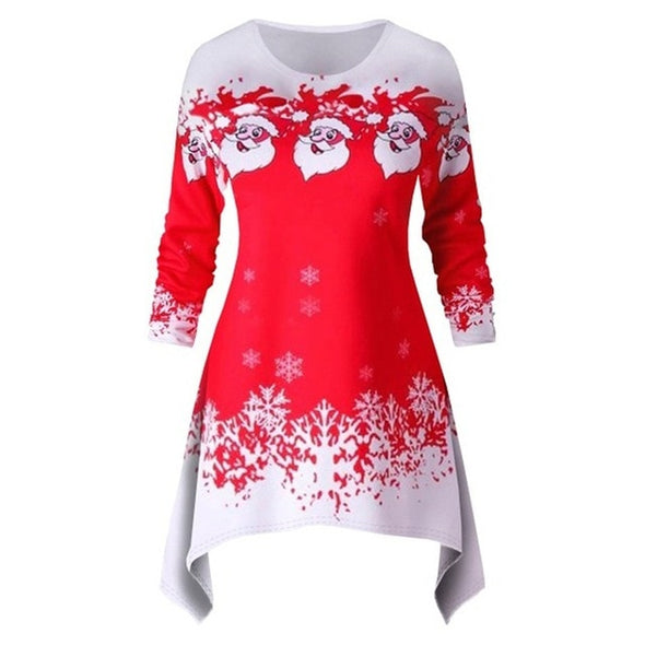 Long Sleeve Santa Sweater