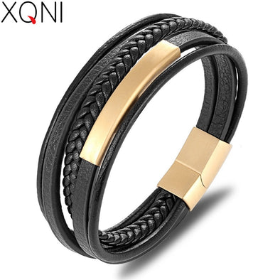 Classic XQNI Handmade Leather Bracelet