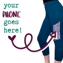 Cozy Loungewear Leggings with Phone Pocket