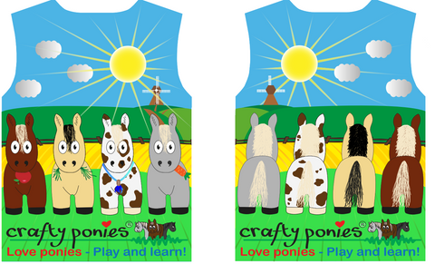 Crafty Ponies Tshirt