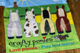 Crafty Ponies T shirt paardjes