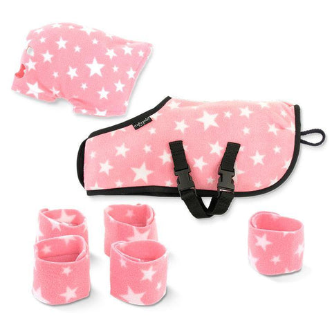 Crafty Ponies Knuffeldeken set roze