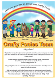 Crafty Ponies instructieboek inhoud
