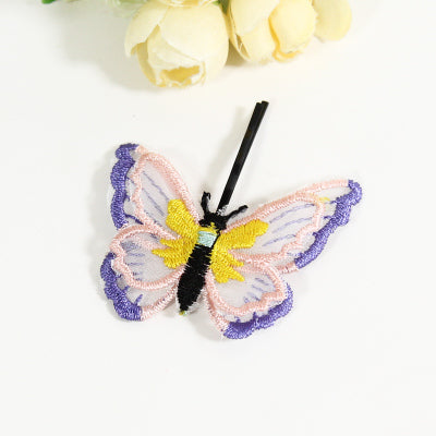 Double Layer Embroidery Hair Accessories