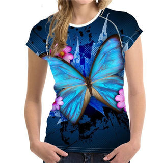 Summer Butterfly T-Shirt