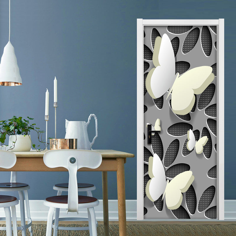 Abstract Stereoscopic Wallpaper Sticker