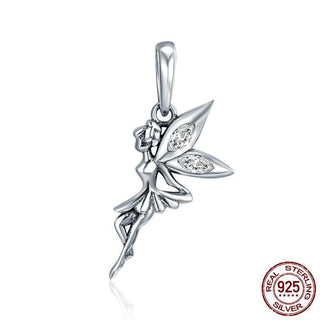 🦋 Fluhtr™ 925 Sterling Silver Fairy Dangle Charm