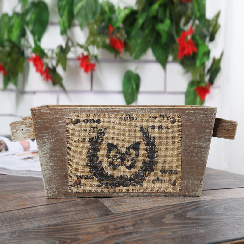 Old Wooden Planter