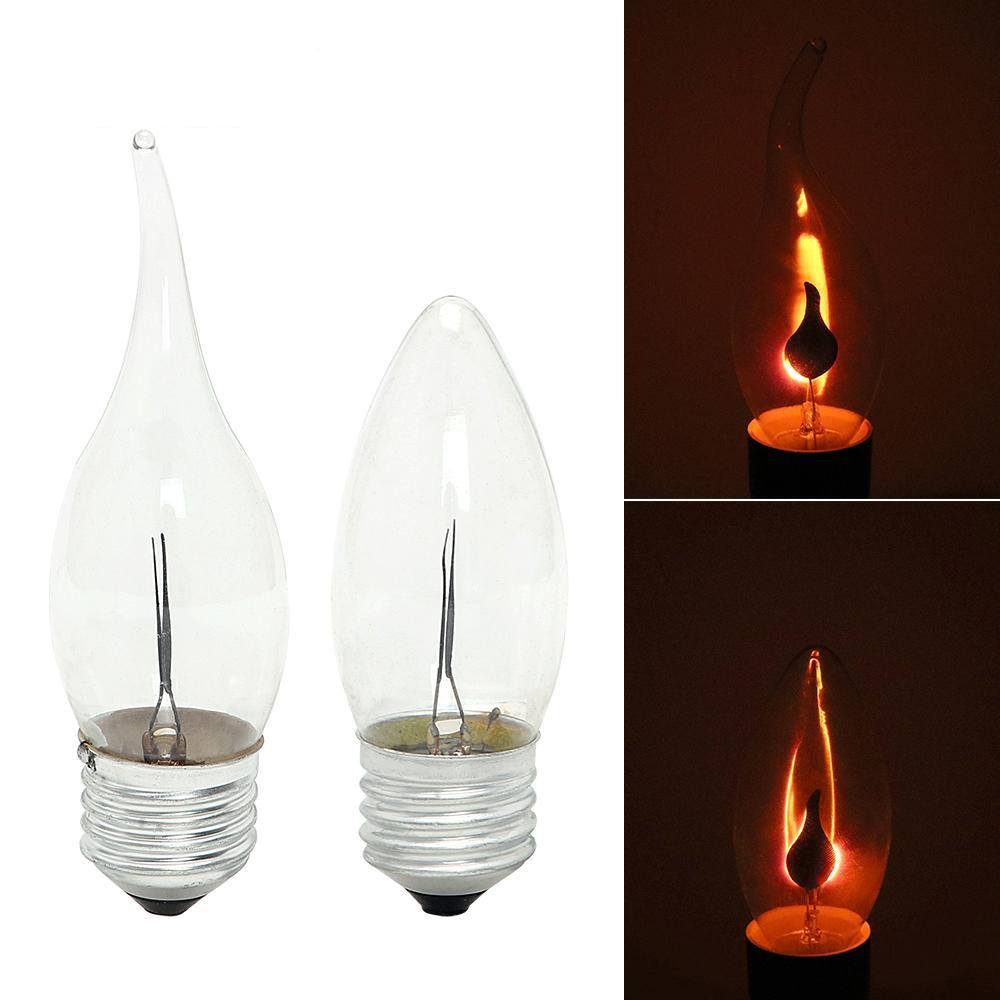 Fluhtr™ Flame Fire Lighting Bulb