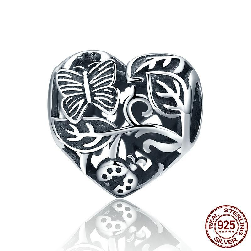 Fluhtr™ 925 Sterling Silver Garden After the Rain Charm