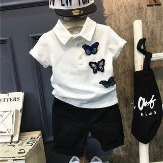Toddler Boys Summer Clothing Set
