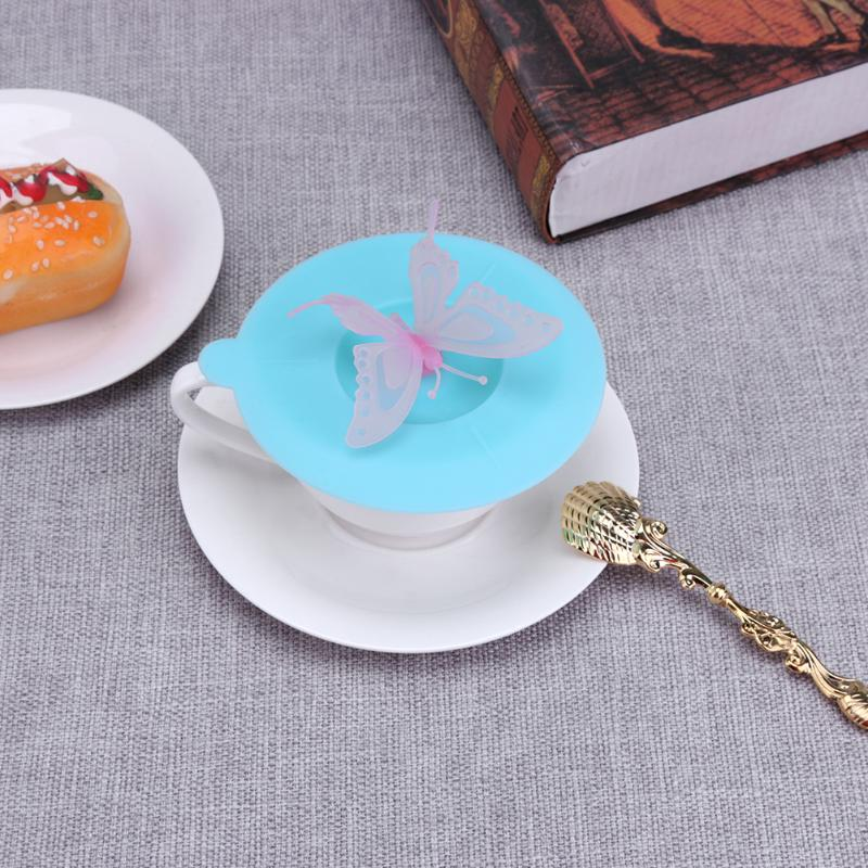 Butterfly Silicone Cup Cover