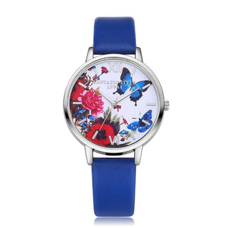 Fluhtr™ Butterfly Quartz Movement Watch