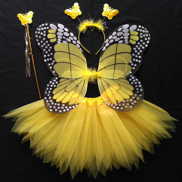 Fluhtr™ Butterfly Fairy Wing Set
