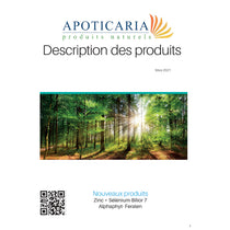 Catalogue imprimé Apoticaria