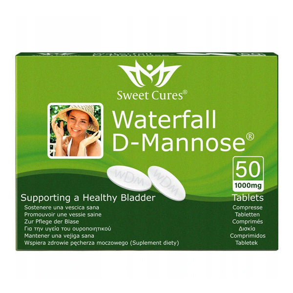 Waterfall D-Mannose Sweet Cures 50 tabletas