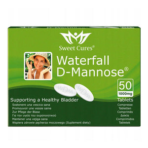 Waterfall D-Mannose Sweet Cures 50 comprimés