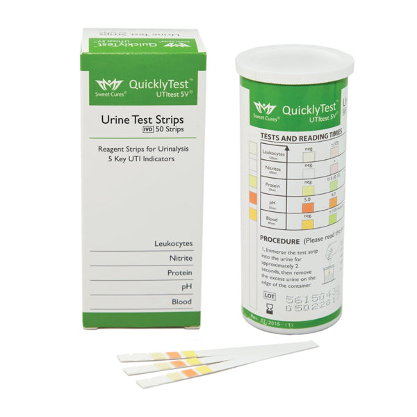 Strips for urine testing