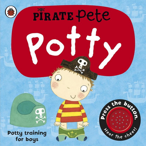 Pirate Pete's Potty book cover