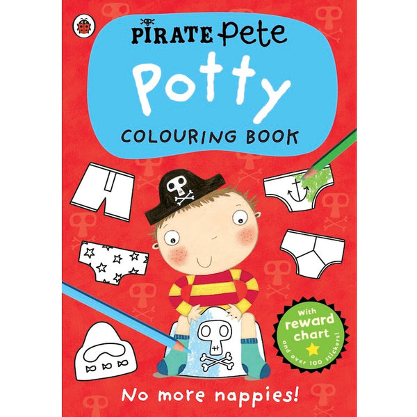 Pirate Pete's Colouring Book cover