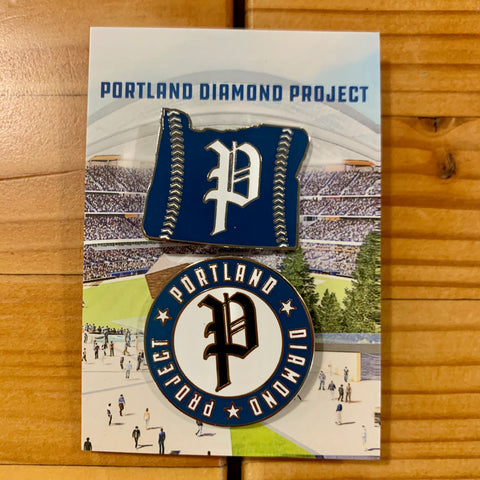 Portland Diamond Project Pins