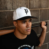 White/Black FlexFit Hats