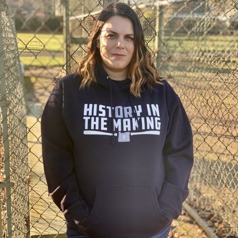 History in the Making Black Hoodie