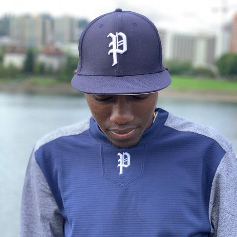 Navy Fitted Cap