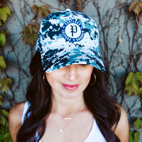 Portland Diamond Project Camo Hat